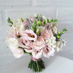 букет невесты в нежном стиле